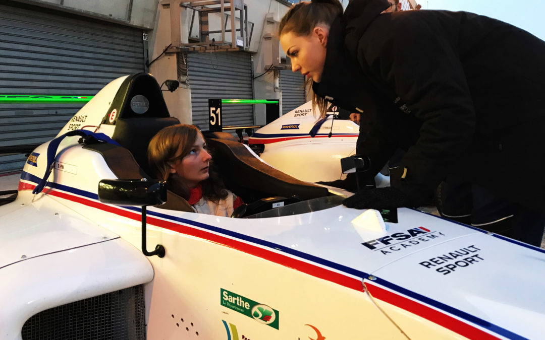 Doriane Pin: premiers tests concluants en F4