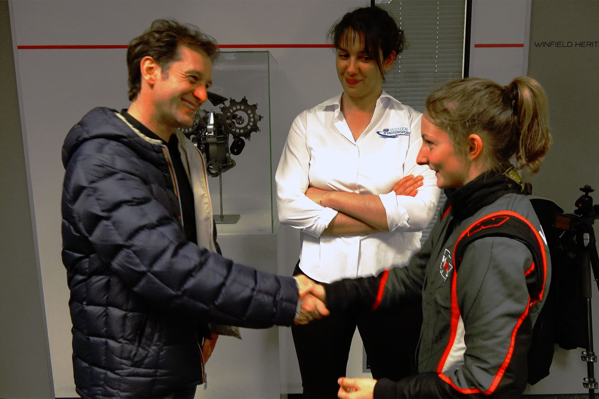 Former F1 driver Trulli analyses the top potential of Doriane Pin in F4, big congratulations