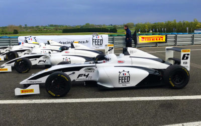 Doriane Pin, from karting to single-seater F4 (France Racing)