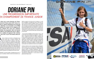 Doriane Pin, une progression importante en championnat de France Junior
