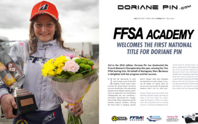 FFSA Academy welcomes Doriane Pin for her first national title