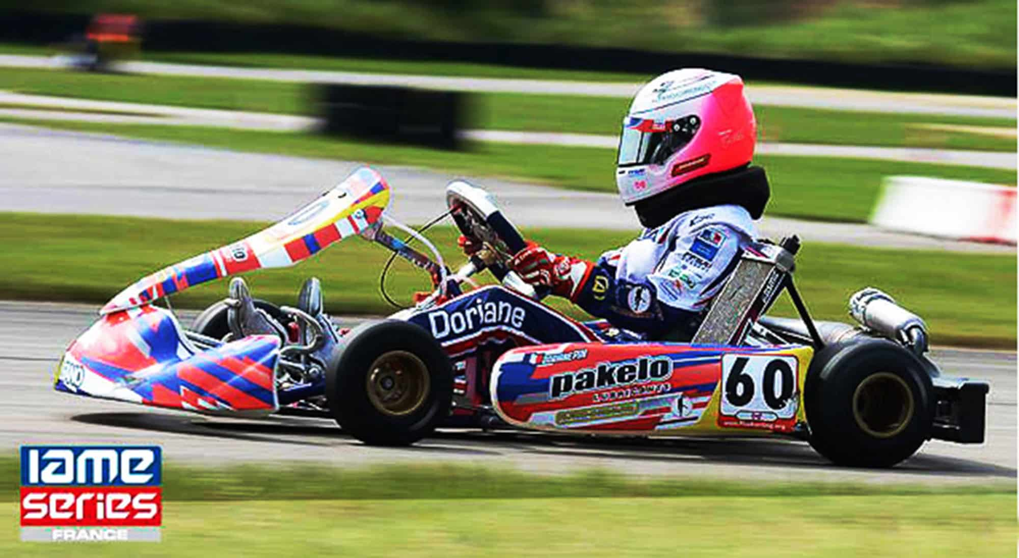 New category for Doriane Pin in IAME X30 Junior