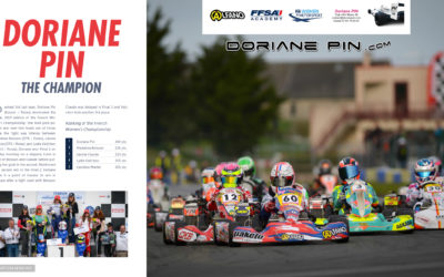 Doriane Pin : French Karting Champion 2019