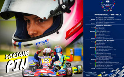 Doriane Pin selected for FIA Motor Sport Games International by the FFSA French team