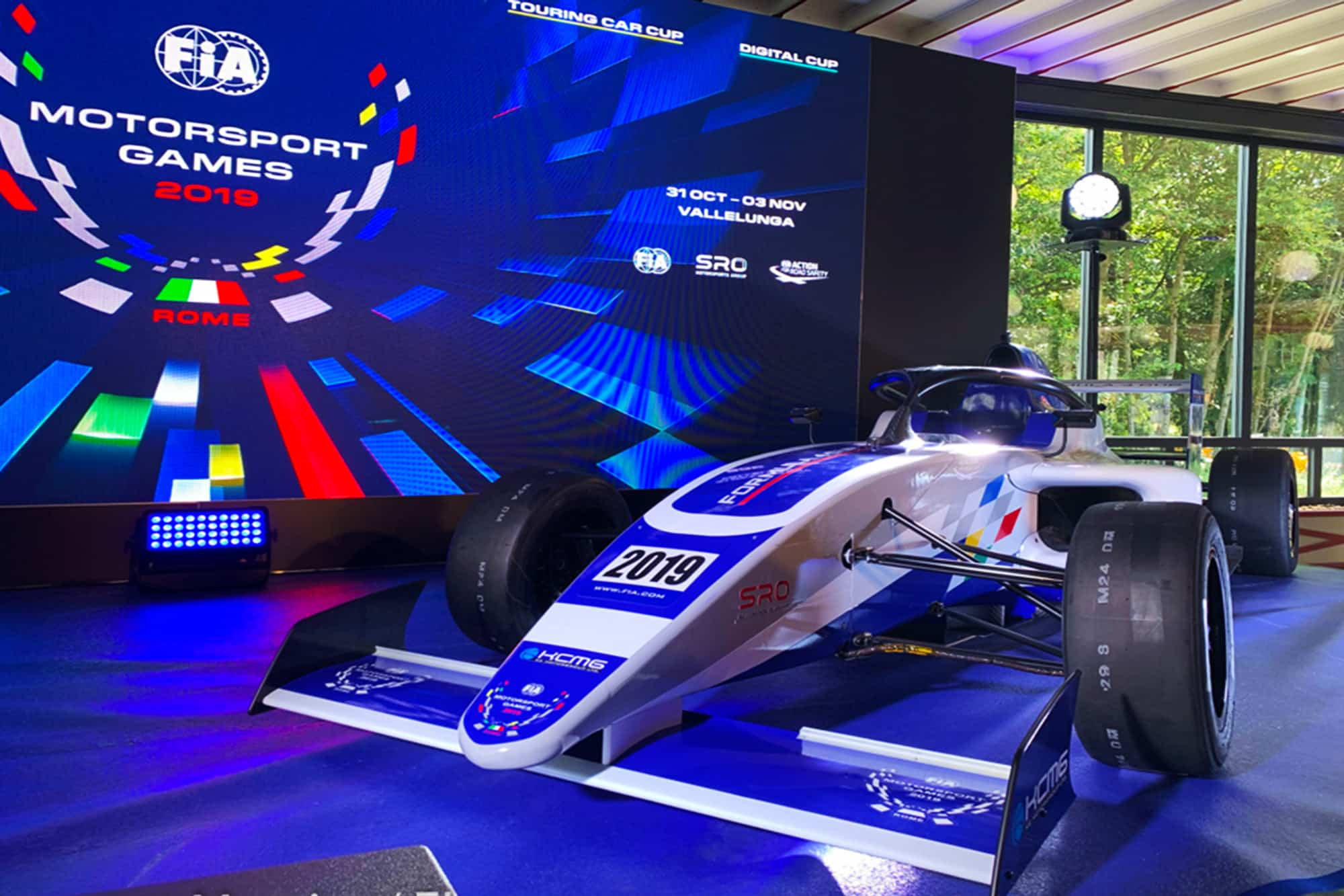 Presentation of FIA Motor Sport Games 2019