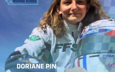 """FIA Girls on Track"" and Ferrari are looking for the best young female driver. Doriane Pin among the 20 best in the world !"
