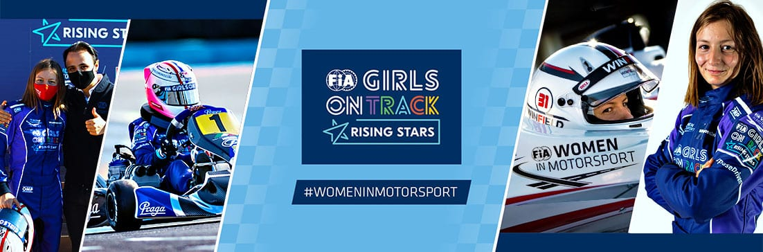 Doriane Pin selected at 'FIA Girls on Track Rising Stars' among the 8 best females youngsters in the world !